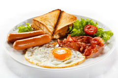 frukostengelska Royaltyfri Bild