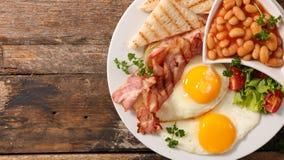 frukostera engelska royaltyfri fotografi