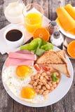 frukostera engelska fotografering för bildbyråer