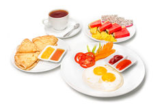 frukostera engelska Arkivfoto