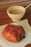 frukostera fransmannen Royaltyfri Foto