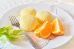 frukostera fransmannen Arkivfoto