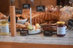 frukostera fransmannen Royaltyfria Foton