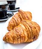 frukostera kaffe Arkivfoton
