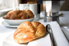 frukostera kontinentalt royaltyfri foto