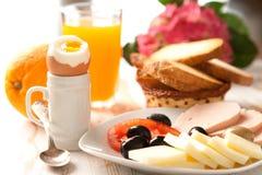 frukostera kontinentalt Royaltyfri Bild