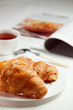 frukostera nya giffel arkivbilder