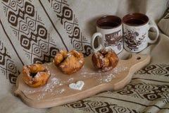 frukostera romantiker Arkivbild
