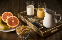 frukostera sunt royaltyfria bilder