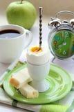 frukostera tid Fotografering för Bildbyråer