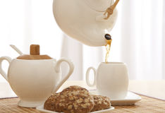 frukostera tid Royaltyfri Fotografi