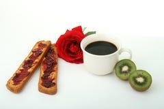frukostfransman Arkivfoton