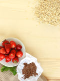 Frukostingredienser Arkivbilder