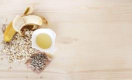 Frukostingredienser Arkivfoton