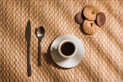 Frukostkaffe Arkivbild