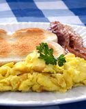 frukostmorgon Arkivfoto