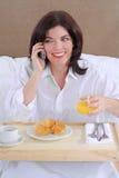 frukostnätverkande Arkivfoto