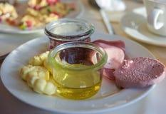Frukostordning Royaltyfri Foto