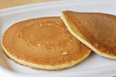 frukostpannkakor Royaltyfri Fotografi