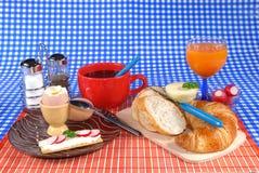 frukoststart royaltyfri foto