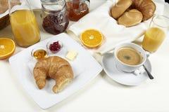 Frukosttabell Arkivbild