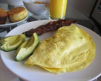 Frukosttid! Royaltyfria Bilder