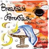 Frukosttid Arkivfoton
