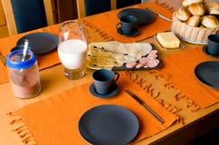 frukosttysk royaltyfria bilder