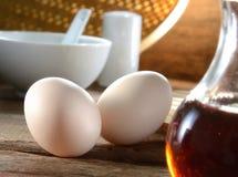 Frukostuppsättning Arkivbild