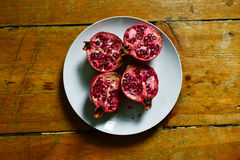 Frukt石榴石红色 免版税库存照片