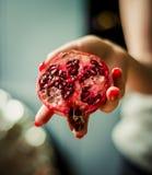 Frukt石榴石红色 免版税库存图片