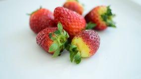 frukt är användbar till kroppen täta nya frukter upp Sunt äta och att banta begrepp arkivfilmer