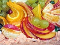 frukt för 5 cake Fotografering för Bildbyråer