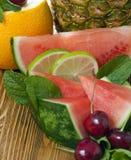 Frukt för att äta Royaltyfria Bilder