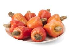 Frukt för brasilianCaju kasju Arkivbild