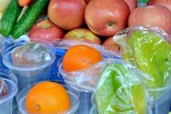 Frukt för fruktsaftframställning Arkivfoto
