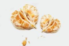 Frukt för två pomelo som isoleras på vit royaltyfri fotografi