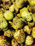 Frukt för vaniljsåsäpple Arkivbild