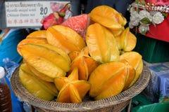 Frukt för stjärnaäpple Arkivbild