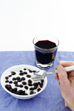 frukt- frukost Royaltyfria Foton