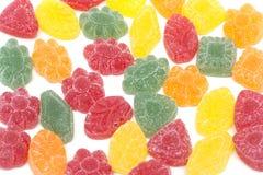 frukt göra gelé av mångfärgat royaltyfri fotografi