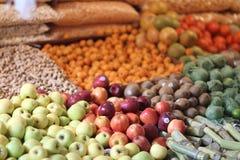 Frukt i marknaden Royaltyfri Fotografi