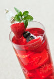 Frukt Iced Tea Royaltyfri Fotografi
