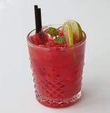 frukt iced tea Fotografering för Bildbyråer