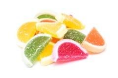 frukt isolerad gelé Royaltyfri Foto