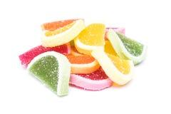 frukt isolerad gelé Royaltyfri Fotografi