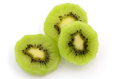 frukt isolerad kiwi Arkivbild