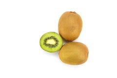 frukt isolerad kiwi Royaltyfri Bild