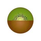 frukt isolerad kiwi Royaltyfri Fotografi