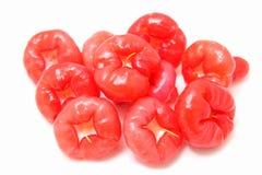 frukt isolerad thai white Arkivbilder